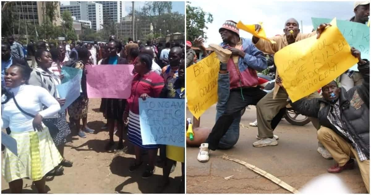 Okoth Obado's supporters erupt in wild celebrations following governor's release
