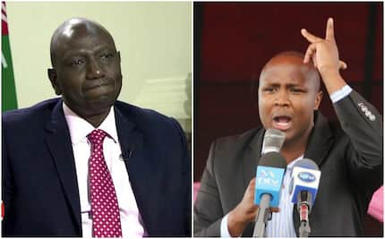 A section of Eldoret residents turn the heat on Ruto after Alfred Keter's win was nullified