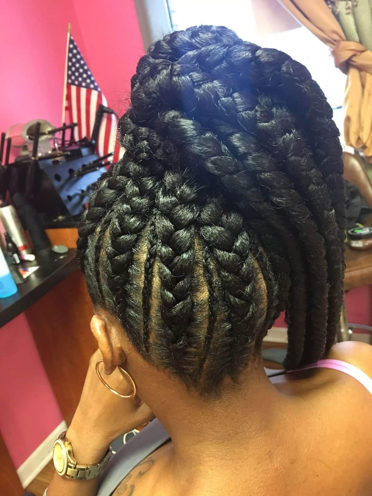 pencil braids