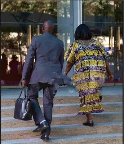 Kenya police finally breaks silence on bodyguards carrying female CS's handbags