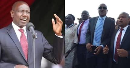 DP Ruto slams Bomet MPs who stormed out of Uhuru' meeting