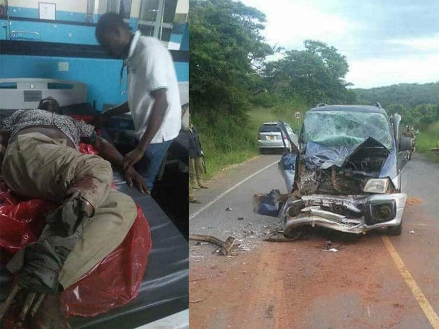 MP involved in nasty accident abandoned by police, forced to fuel ambulance to hospital