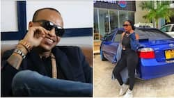 Singer CMB Prezzo re-unites with Tanzanian socialite he was asked to use protection with