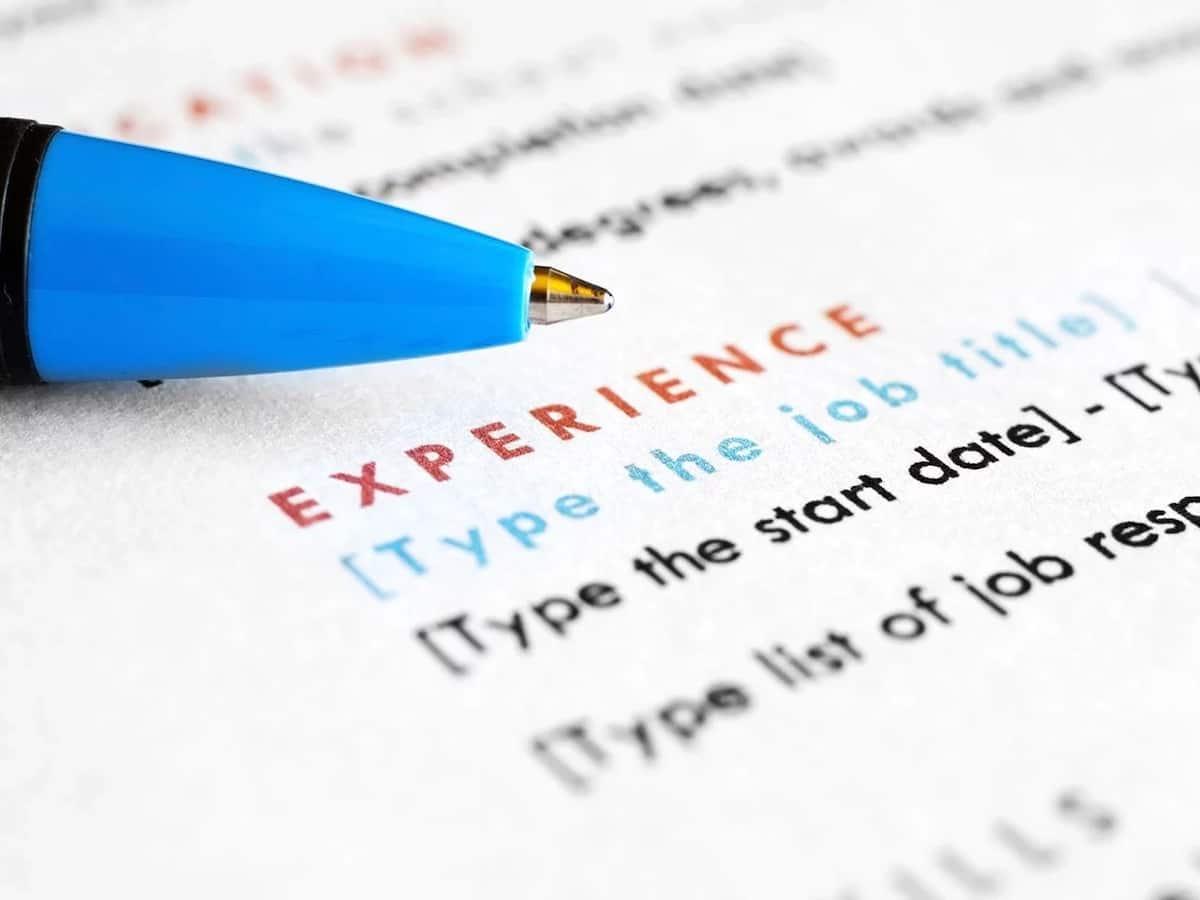 write cv for internship kenya