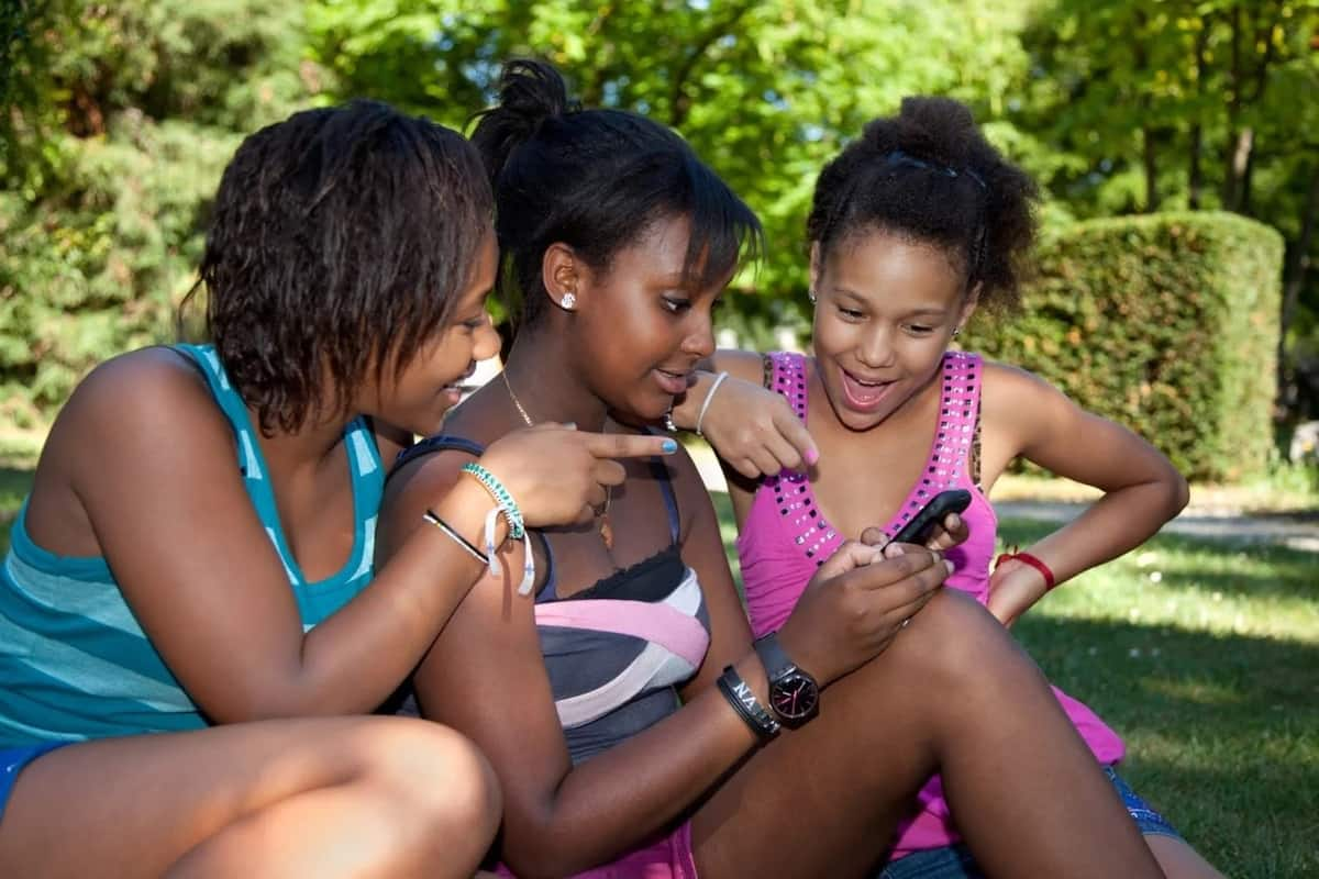 Black teens social networking
