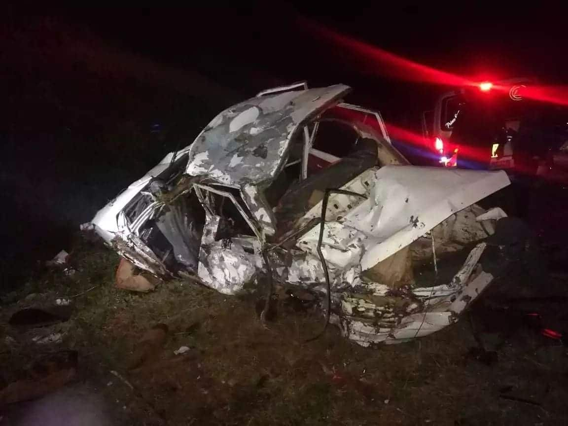 Five family member returning from family gathering perish in grisly road accident