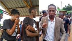 Picha za mazishi ya kiongozi wa wanafunzi wa Chuo Kikuu cha Meru aliyeuawa na polisi