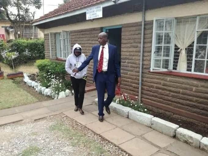 Jacque Maribe presents herself to police after her fiancé is charged with murder