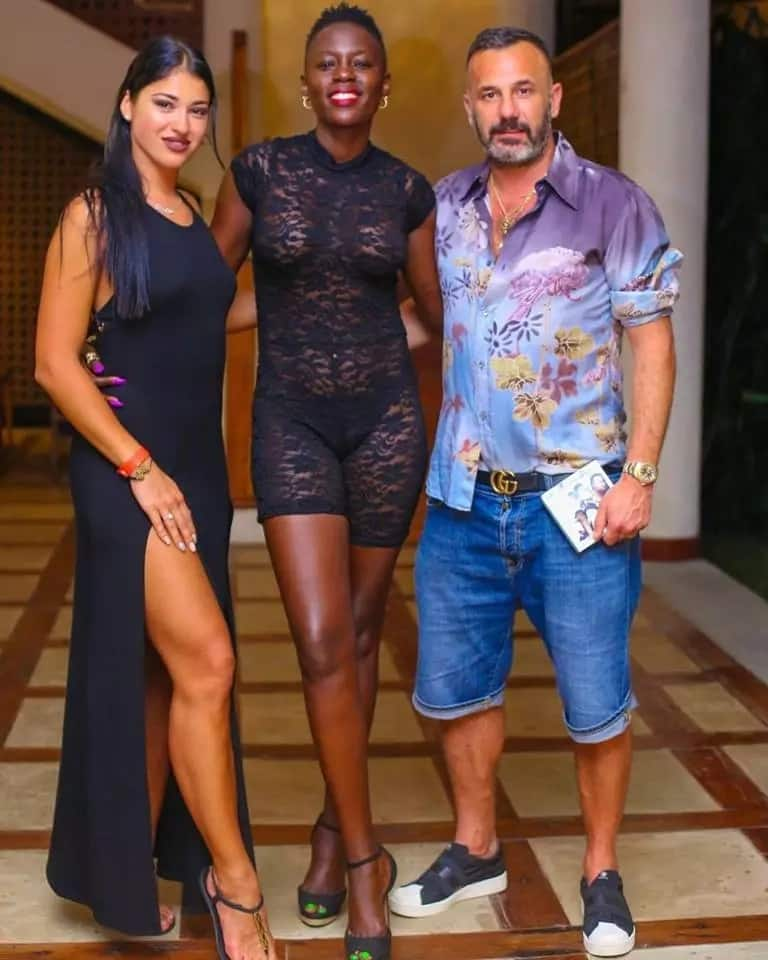 Sassy singer Akothee in see through-dress that leaves nothing to the imagination