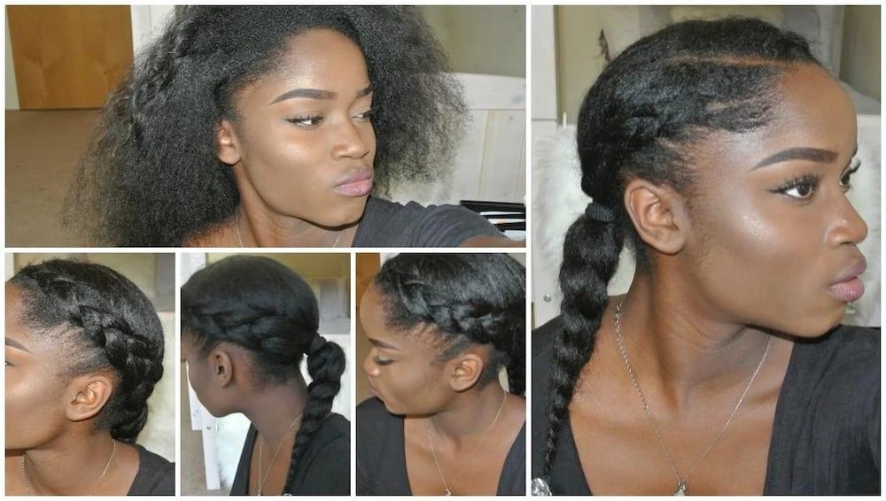 Protective Hairstyles For Natural Hair Tuko Co Ke