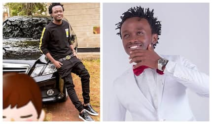Singer Bahati shows off fancy house he is building for wife and kids