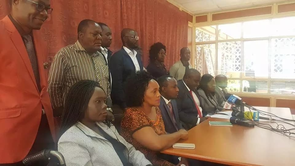 NASA is not forcing MPs to sign affidavit supporting Raila's swearing-in-Gladys Wanga