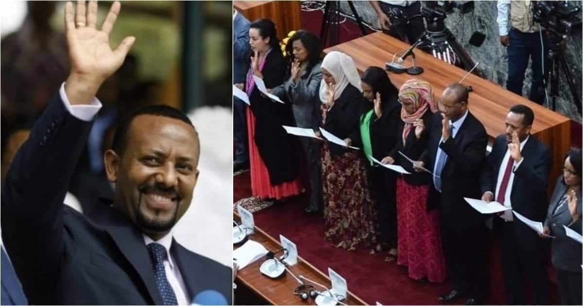 Ethiopia's prime minister makes history by appointing Cabinet made up of 50% women