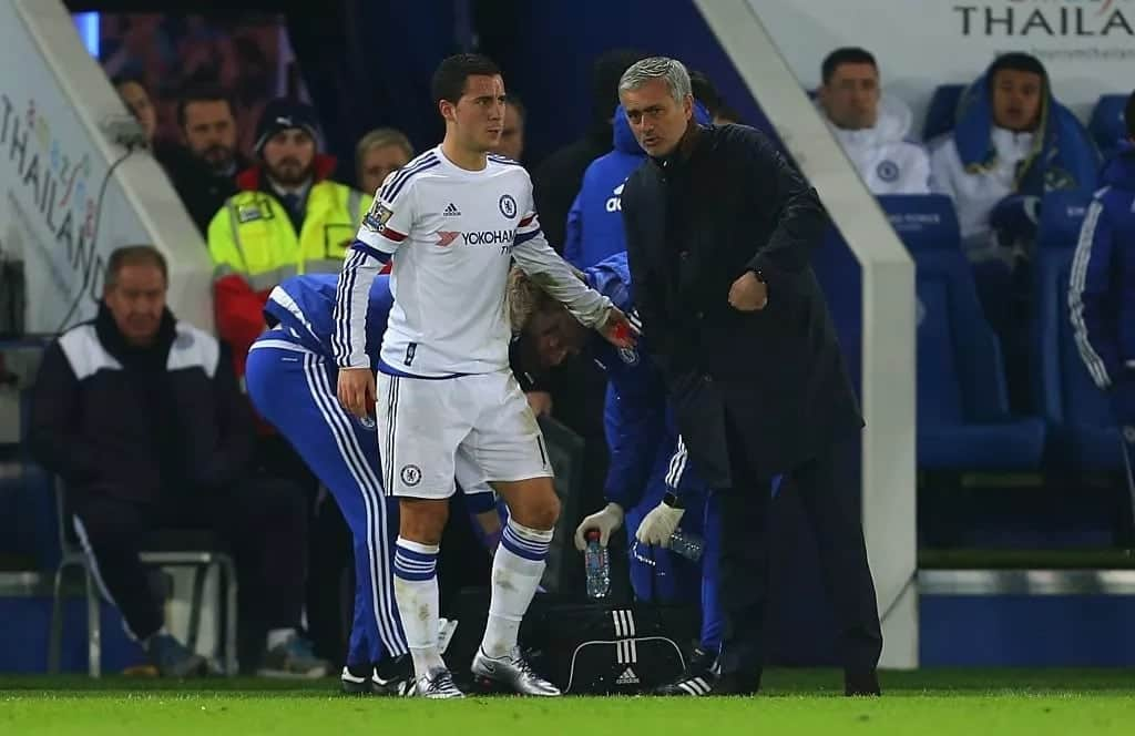 I would love to have Eden Hazard at Manchester United - Jose Mourinho