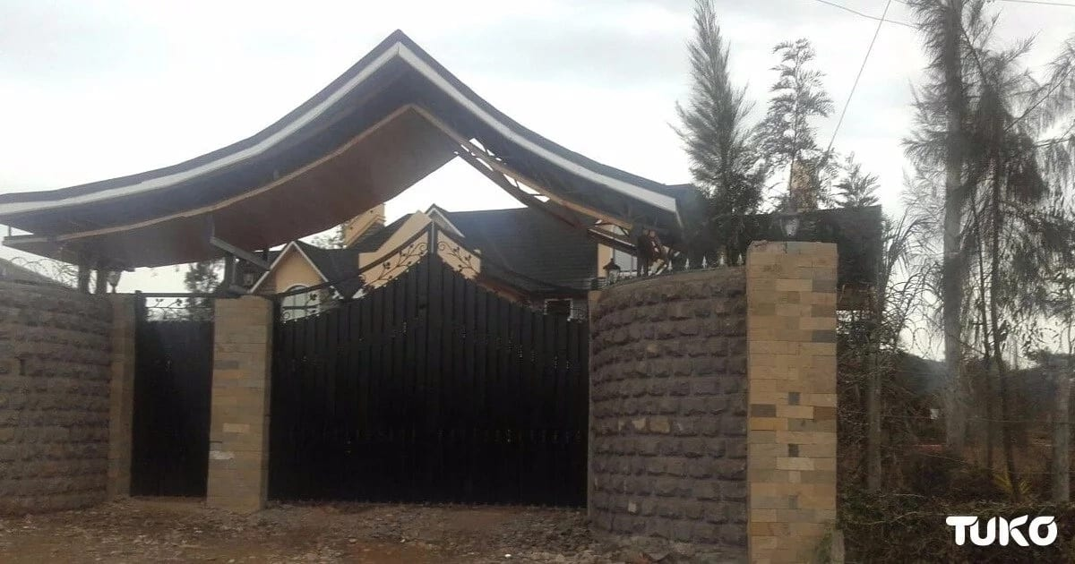 5 photos of Homa Bay Woman Rep Gladys Wanga's multi-million magnificent mansion in the village