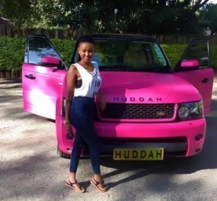 Huddah Monroe denies claims she increased her butt surgically