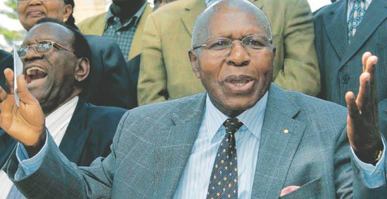 Mjakazi adaiwa kumuibia aliyekuwa waziri Simeon Nyachae KSh 5 milioni nyumbani kwake