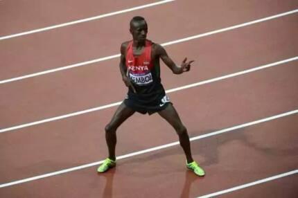 Former 3,000 steeplechase champion Ezekiel Kemboi formally moves to the marathon