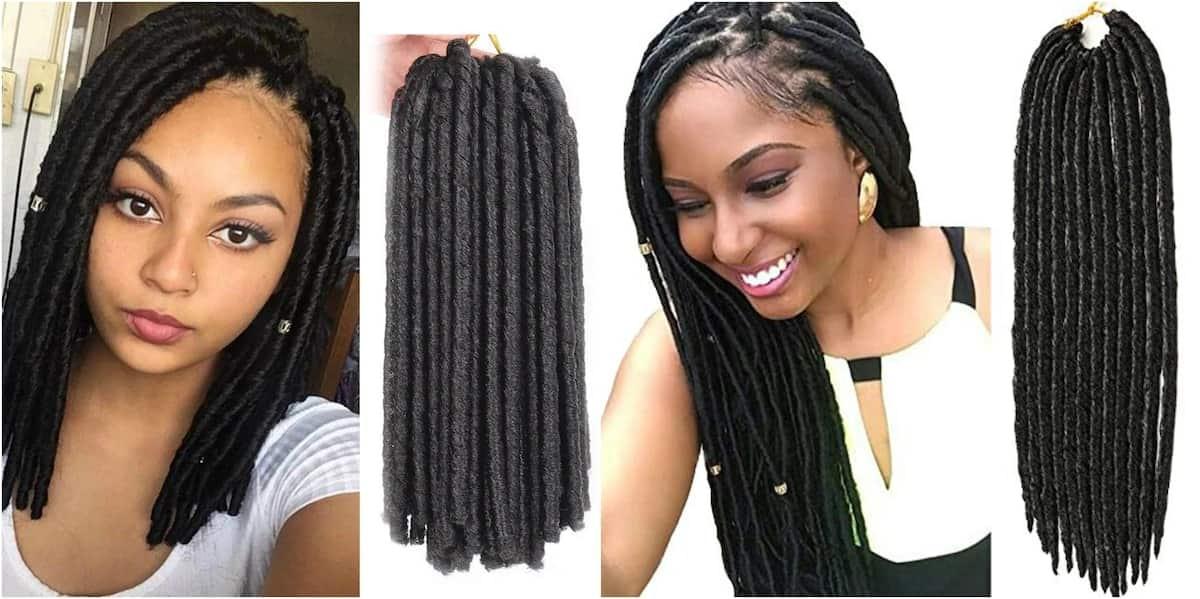 Soft texture dreadlocks Soft dreadlocks styles in Kenya How to make soft dreadlocks