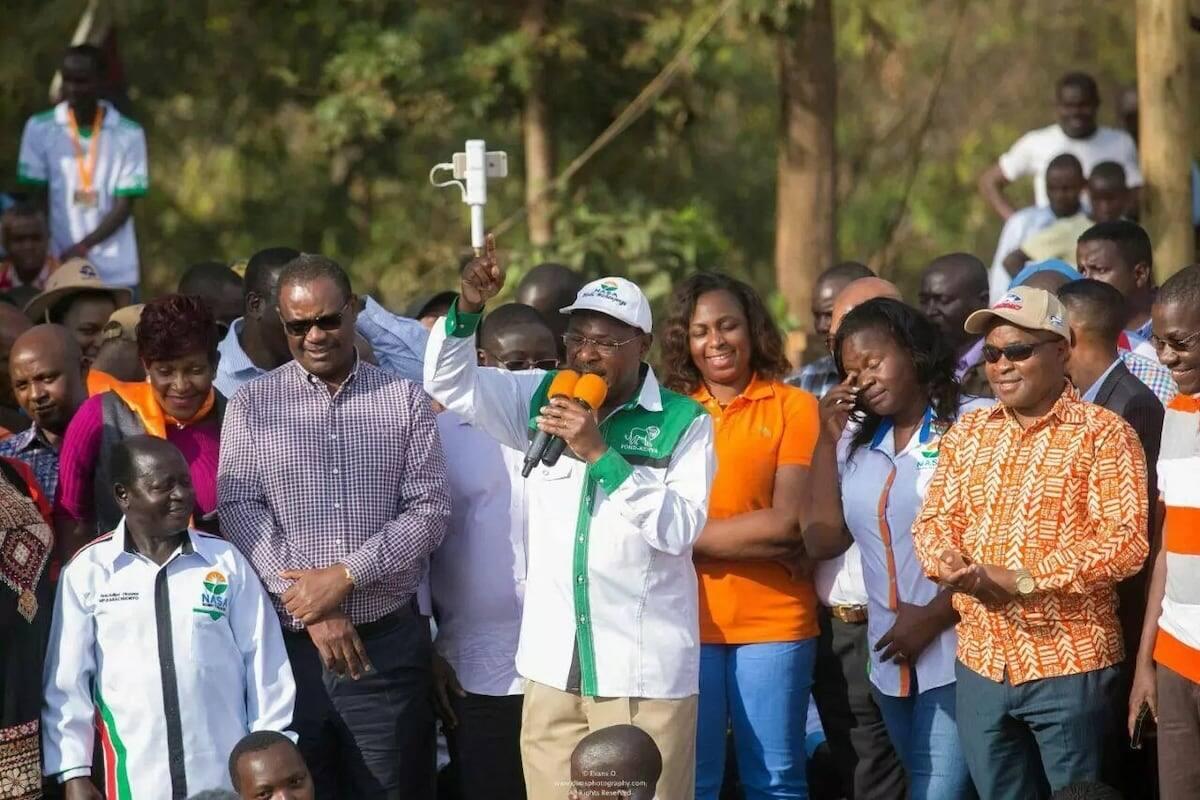 Raila using political greenhorns to insult me - Wetang'ula