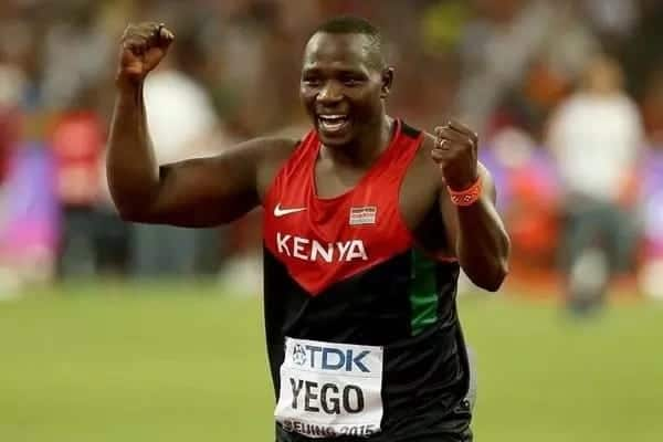 Gwiji wa kurusha mshale Julius Yego amkaribisha malaika 'phocopy' wake
