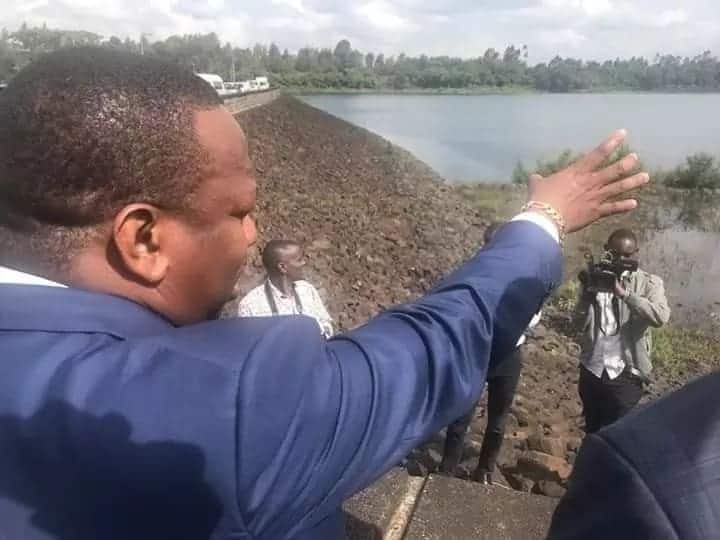 We don't sell water and have no revenue to share - Governor Mike Sonko tells off Central leaders