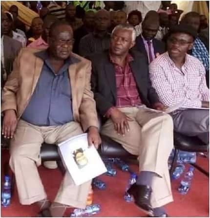 Kenyans blast governor for 'scaring away investors with his big STOMACH' (photo)