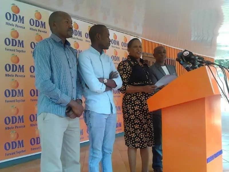 Wanachama wa ODM wakabiliana baada ya chama hicho kumteua binti wa miaka 24 kama seneta