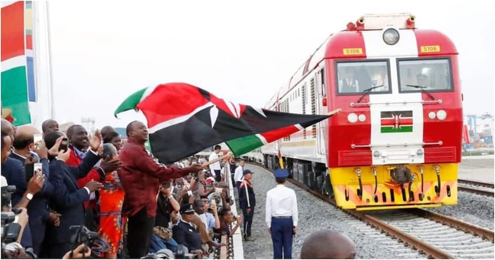 Uhuru Kenyatta, Raila to take maiden Mombasa-Kisumu train ride