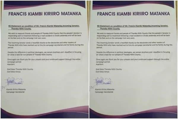 Senatorial aspirant falls off boda boda during Uhuru rally,injured seriously