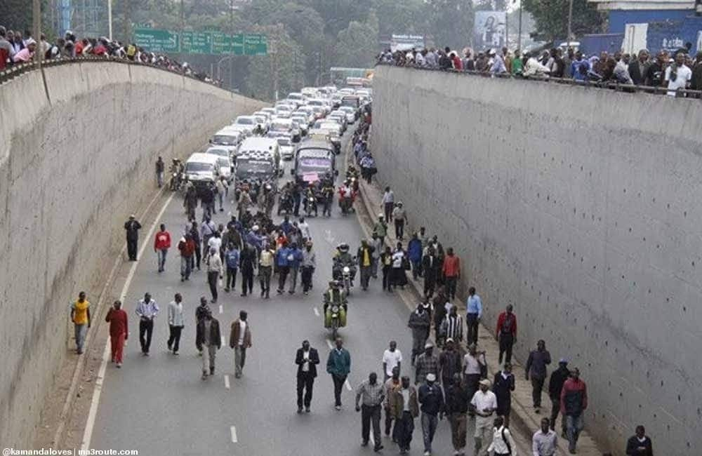Planned nationwide matatu protest badly flops as motorists ignore strike notice