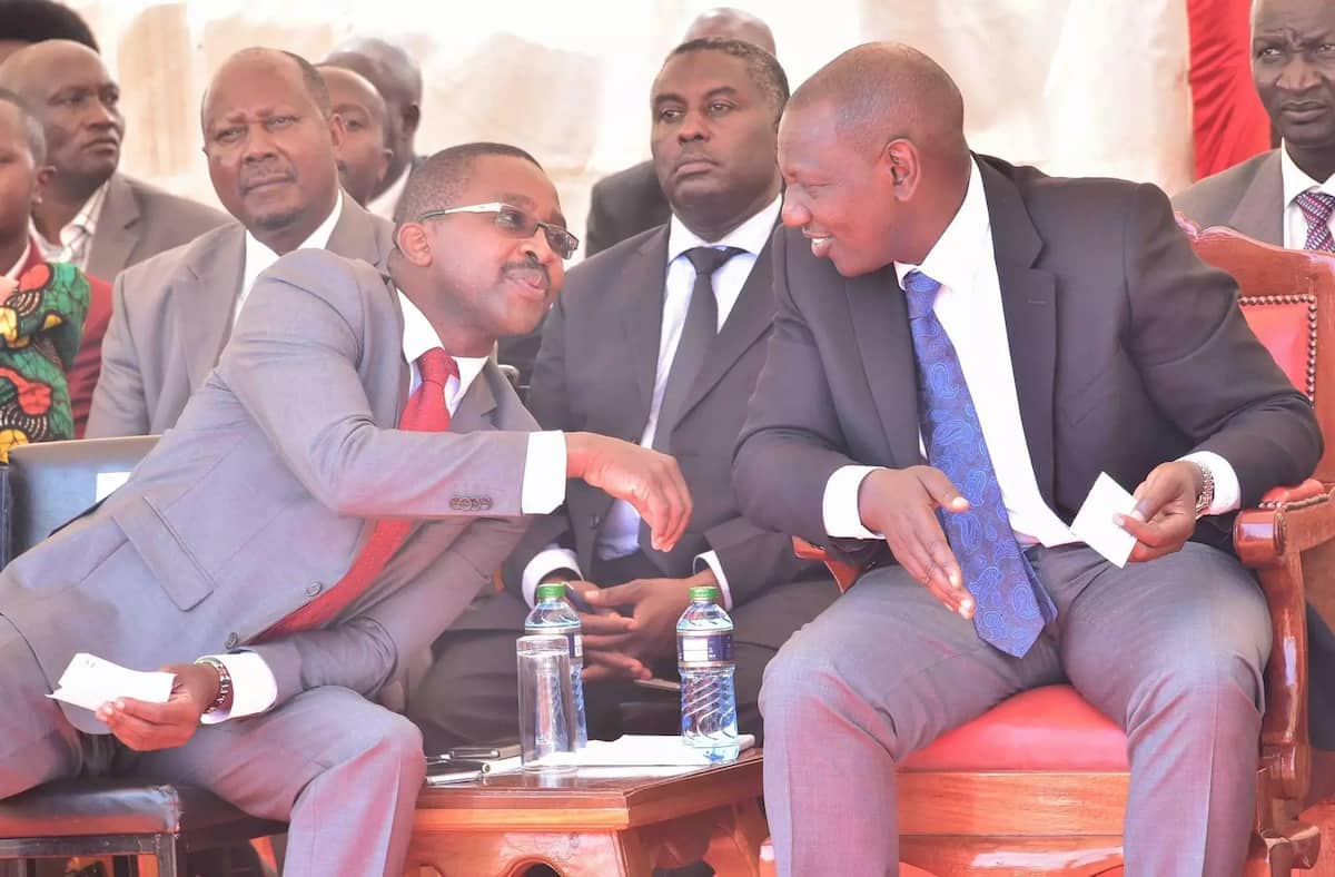 Murang'a County leaders wash dirty linen before DP Ruto