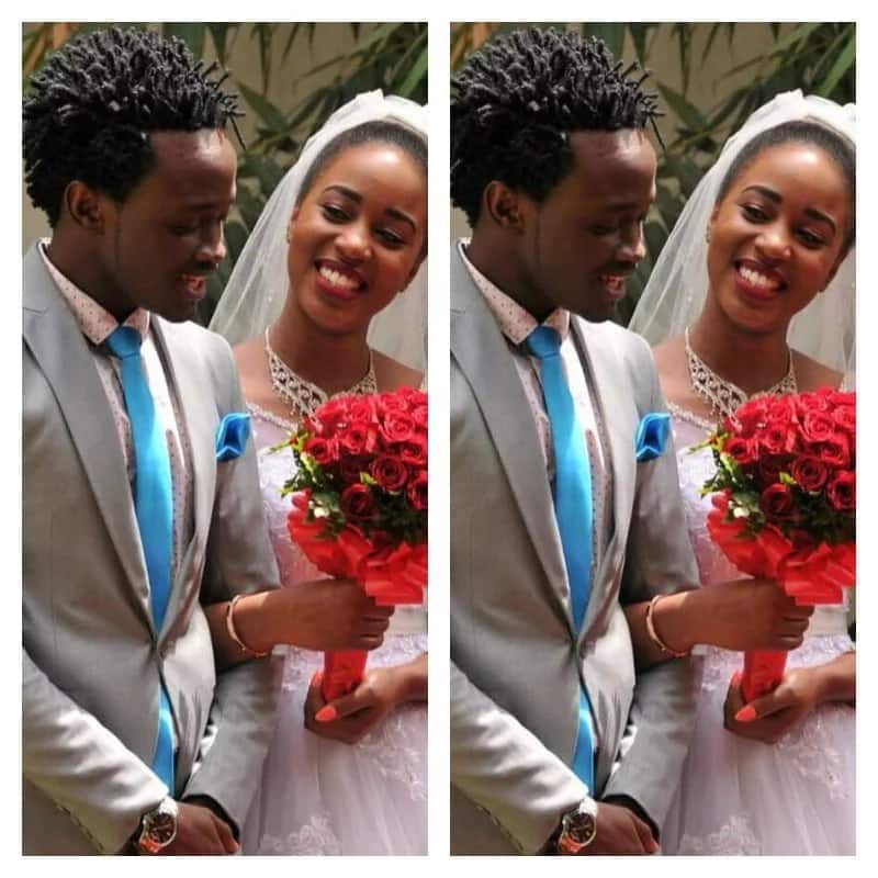Bahati showers new wife with love messages to celebrate 28th