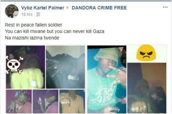 Taunting death: Gaza member sends message to Hessy wa Kayole after Mwanii was gunned down