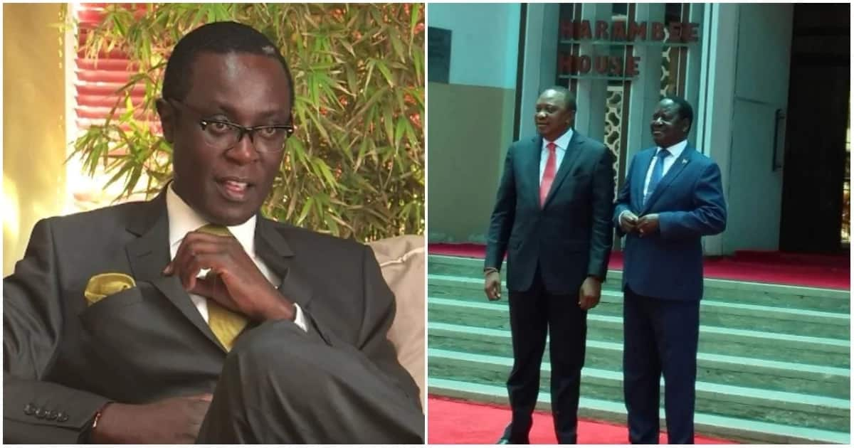 Mutahi Ngunyi's take on unity deal between Uhuru Kenyatta and Raila Odinga.