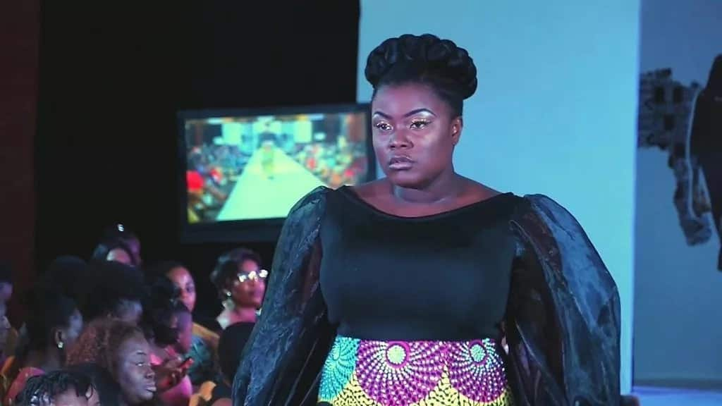 The show is an opportunity for plus-size women to celebrate their beauty. Photo: BBC Africa