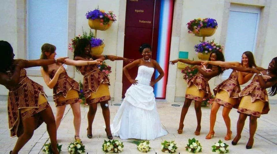 Kitenge designs for wedding