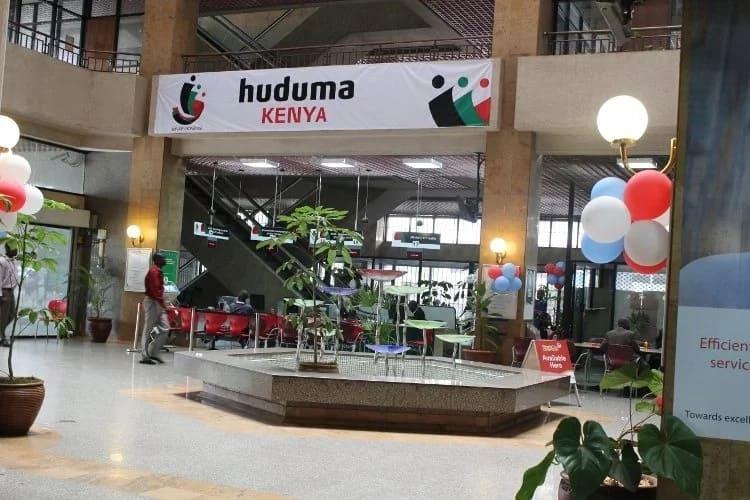 Huduma centers in Nairobi