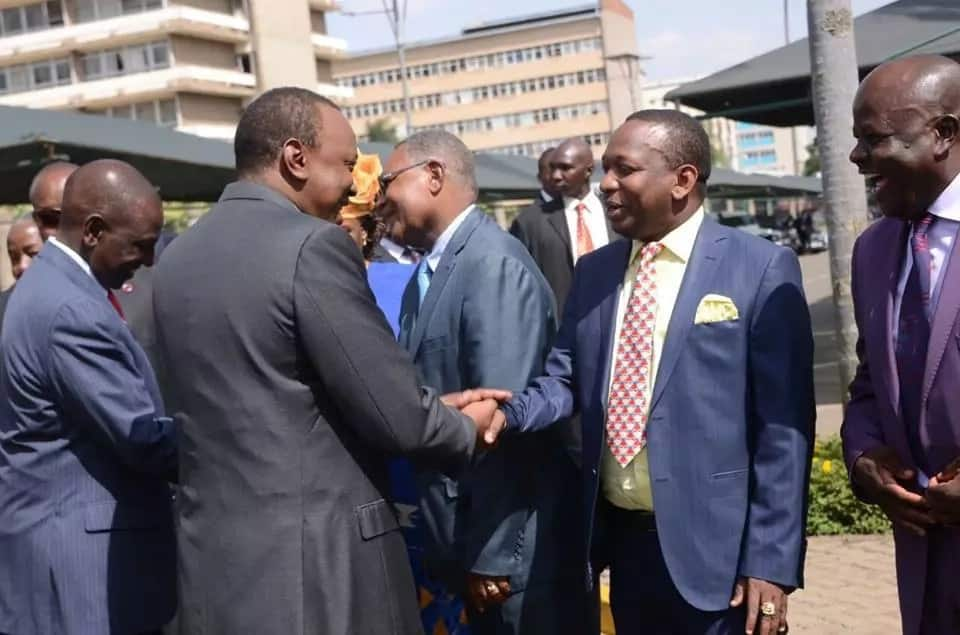 Governor Sonko congratulates president Uhuru on his Supreme Court victory