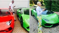 'Money doesn't enjoy the company of fools!' Zimbabwean pastor shows off his Lamborghini
