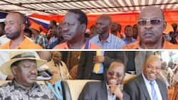 Governor who attacked and ditched ODM in trouble for using Raila's posters to campaign