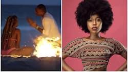 Dadake sosholaiti Corazon Kwamboka ashiriki katika video ya Otile Brown