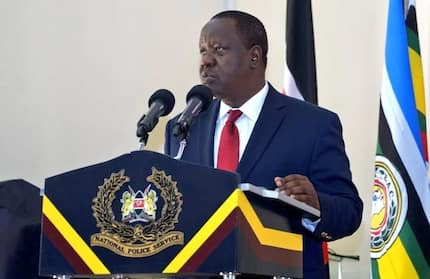 Another lot of Form Four leavers captured insulting Interior CS Fred Matiang'i as they burn books