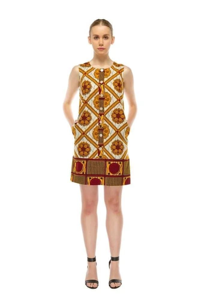 kitenge dress, kitenge fashion