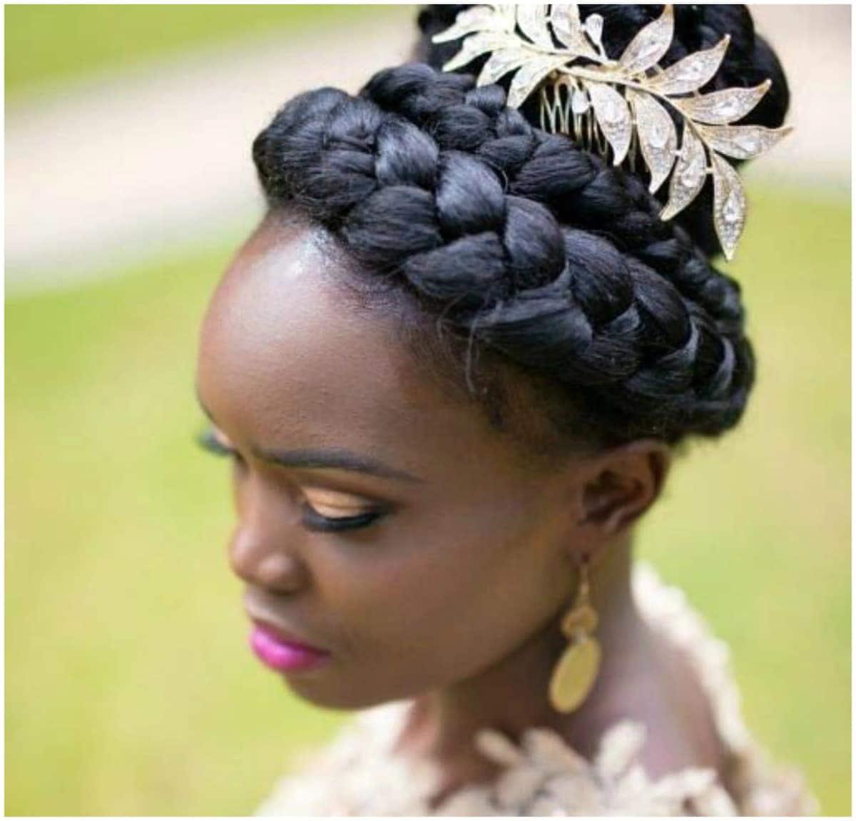 Kenyan bridal hairstyles for natural hair Latest Kenyan ladies hairstyles Hairstyles for Kenya hair