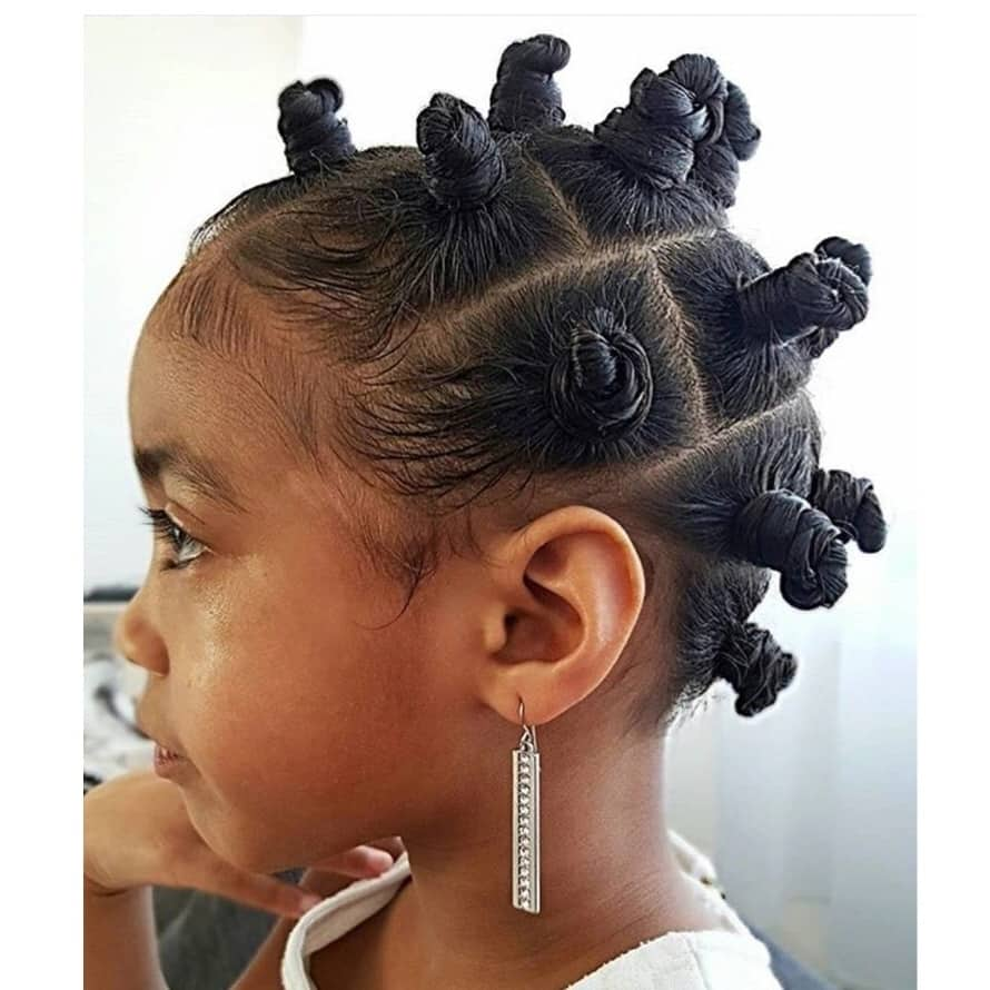 Top 25 Cutest Kids Hairstyles For Girls In 2019 Tuko Co Ke