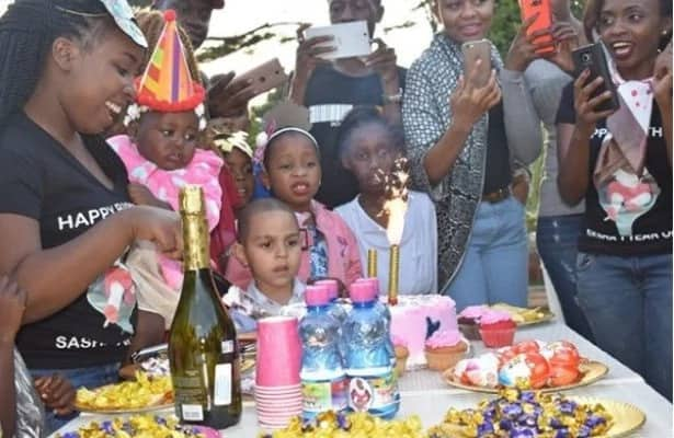 All the photos from Mike Sonko's granddaughter's birthday which prove the family is filthy rich