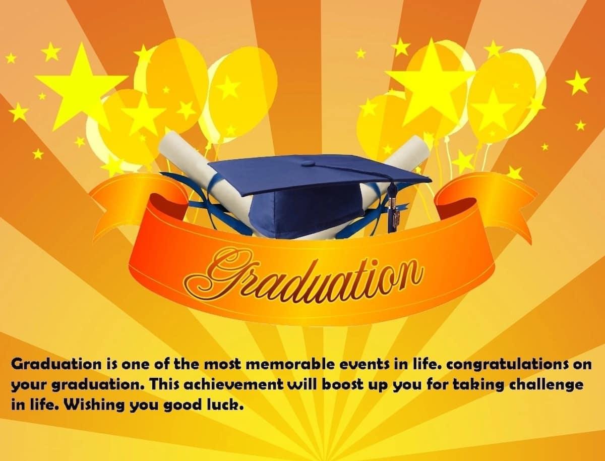 Best graduation invitation messages, Graduation day messages, Graduation messages from parent