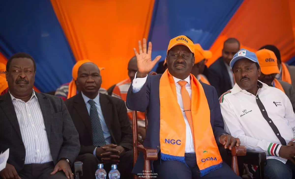 I am not surprised some cowards have abandoned me - Raila Odinga
