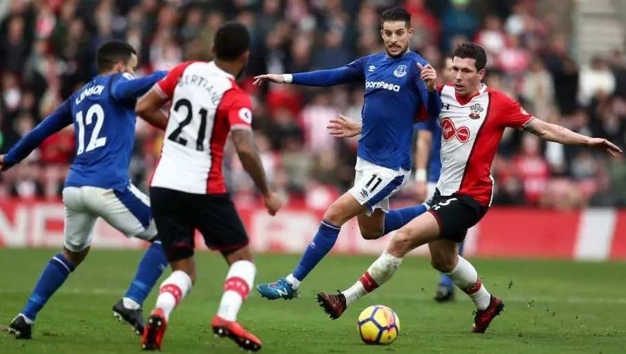 Everton vs Southampton results Everton vs Southampton team news Everton vs Southampton lineups
